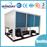 Tipo de tornillo de aire refrigerado por agua refrigerador industrial