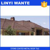 Mattonelle di legno dello strato del tetto rivestito di pietra del metallo