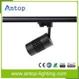 Luz/projector da trilha do diodo emissor de luz de Dimmable da microplaqueta do CREE para a loja da roupa