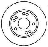Disque de frein de composants de frein de pièces d'automobile