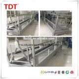 Gondole suspendue d'échafaudage de berceau d'accès de plate-forme d'alliage d'aluminium de la CE Zlp800