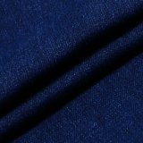 Tela elevada da sarja de Nimes do Spandex do algodão do estiramento para calças de brim