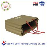 Способа печатание высокого качества мешок изготовленный на заказ бумажный для покупкы