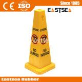 Reflektierender Belüftung-warnender Gummi kein Parken-Verkehrs-Kegel