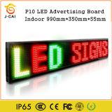 3D panneau en gros de signe d'Afficheur LED de la matrice P10 pour la publicité