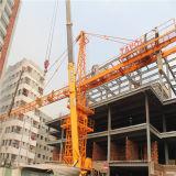 5010 machines de chantier de construction de constructeur de grue à la tour 5ton