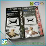Caixa de cor feita sob encomenda do cartão ondulado da esteira do cão