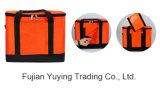 Orange Picnic Bag Organizer Cooler Tote & Shoulder Bag