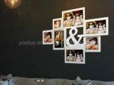 Frame van de Foto van de Collage van de Decoratie van het LEIDENE het Plastic MultiHuis van de Gift Openning