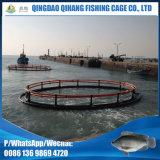Gaiola da piscicultura do HDPE da cultura aquática