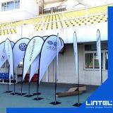 Drapeau d'indicateur de plage de larme, indicateur de plage de promotion, indicateur de plage fait sur commande extérieur