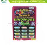 Dinasour croissant magique joue les capsules animales augmentant la capsule de mousse d'éponge