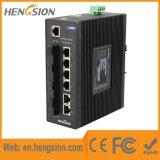 10 porte hanno gestito l'interruttore ottico industriale di Ethernet della fibra