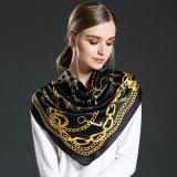 Чисто шарф напечатанный шелком для женщин