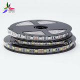白いカラーIP20 30LEDs SMD5050チップ7.2W DC12V LEDストリップ