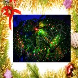 Os produtos novos IP65 Waterproof o laser vermelho verde ao ar livre do Natal da estrela