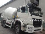 중국 Sinotruk HOWO 6X4 구체 믹서 트럭