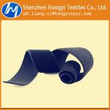 Mehrfachverwendbarer justierbarer schwarzer Nylonflausch-elastisches Schleifen-Band
