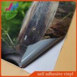 Het verwijderbare Grijze Vinyl van de Sticker van de Lijm