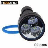 3000 Lm-LED tauchende Lichter Tauchens-Taschenlampen-Fackel-Lampeled helle des Underwater-100m