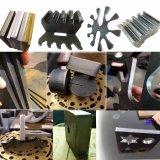Máquina de gravura inoxidável da estaca do laser da fibra da chapa de aço da tela do CNC