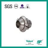Válvula de verificação soldada do produto comestível de aço inoxidável