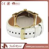 Form-Leder-Uhr der künstlichen Frauen für Unisex