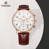 Het goedkope Aangepaste Horloge van de Armband van het Leer van het Horloge van de Manier met OEM Logo72310