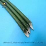 Flamme-Widerstand-Silikon-Harz-Fiberglas, das für Draht-Verdrahtung Sleeving ist