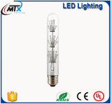 장식적인 전구 E27 2W 에너지 절약 전구를 점화하는 관 모양 LED