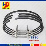 O anel de pistão do motor Diesel de E13c para Hino parte (13011-3090 13011-4010A)