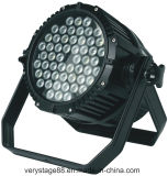 54X3w al aire libre impermeable RGBW al aire libre 4 en 1 luz de la IGUALDAD del LED