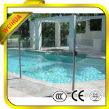 12mm 건축을%s 두꺼운 안전 청동 강화 유리