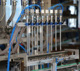 トマトソースまたはサラダソース(FLC-800A)のための自動8つのヘッドびんの充填機