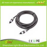 Toslink al cable audio óptico de Digitaces del mini enchufe