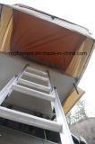 Gelbes Extensions-Dach-Oberseite-Zelt