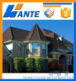 精密および美しい高品質の石の上塗を施してある金属の屋根瓦