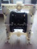 テフロンダイヤフラムの空気によって作動させる廃水の下水管ポンプ