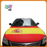 Drapeau fait sur commande de couverture de capot de véhicule de tissu élastique respectueux de l'environnement pour la publicité
