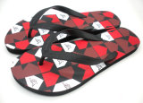 PET Fußbekleidung-Hefterzufuhr mit bunter Einlegesohle für Mann-Sommer-Strand