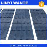 Mattonelle di tetto rivestite del metallo della pietra schiava