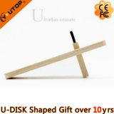 Movimentação de madeira do flash do USB do cartão do giro como o presente da mobília (YT-3132)