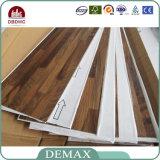 plancher d'intérieur de vinyle de texture en bois de 2mm-5mm avec le dos de colle