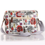 2261 Waterproof Patterns PVC Floral Canvas Senhora Bolsa de Ombro