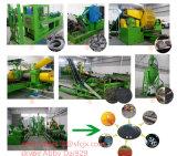 ライン、ゴム製粉の生産ラインをリサイクルする不用なタイヤ