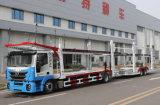 2台の車軸6-8自動車運搬船のトレーラー