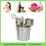 30L/8gal Geesten van de Maneschijn van de Boiler van de Distillateur van het Water van de Alcohol van de Extractie van Hydrolat van het huishouden de Roestvrije nog