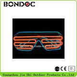 Óculos de sol de piscamento do diodo emissor de luz do partido do brilho elevado de boa qualidade