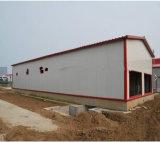 Poutry 농장 강철 구조물이 강철 구조물 조립식 가금에 의하여 유숙한다