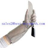 Перчатка безопасности Butcher защитных перчаток нержавеющей стали цепной почты/отрезанная упорная перчатка